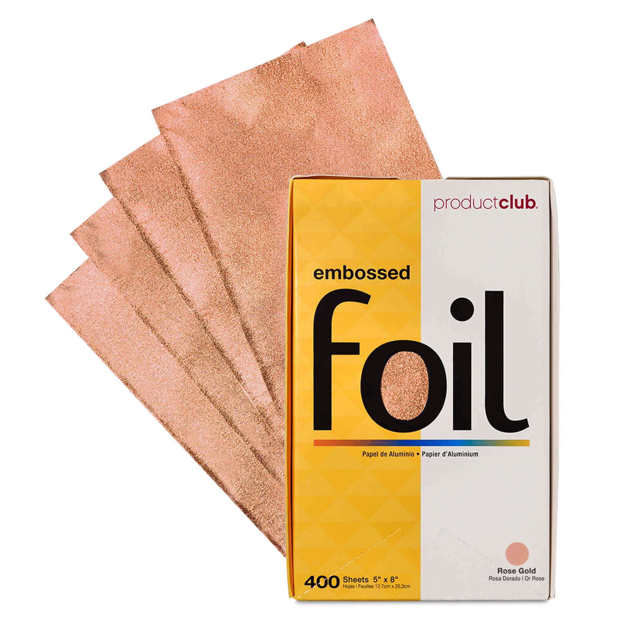 EF400-CP Product Club Precut  Rose Gold Hair Foil