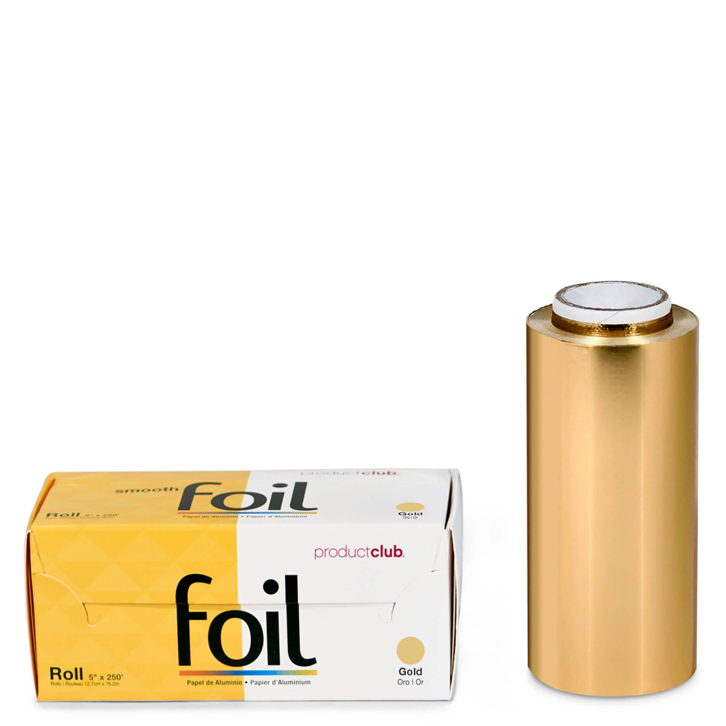RF-10-60G Gold Hair Dye Roll Foil