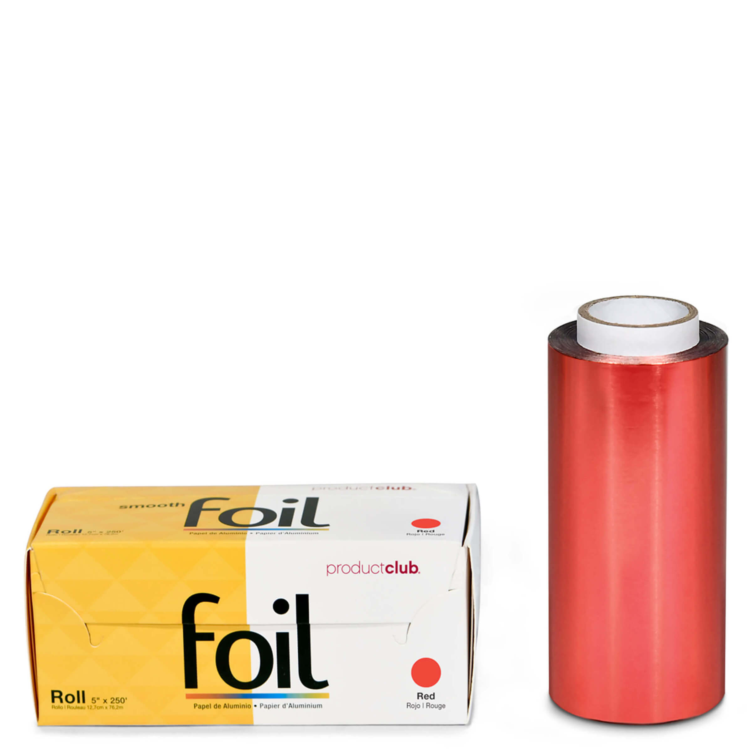 RF-10-60R Red Rolled Hair Foil