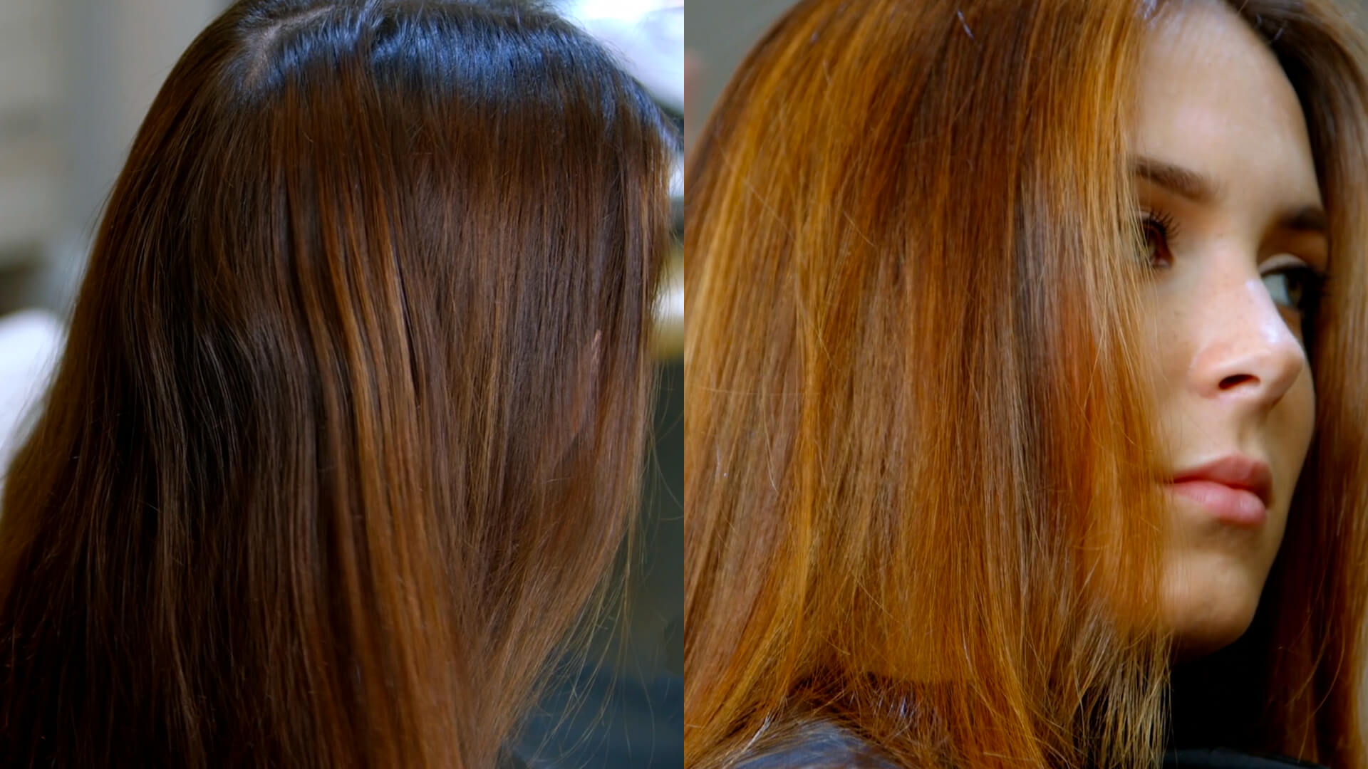 Brown Copper Balayage Training VIdeo